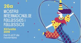 Vídeo resum programació Mostra Internacional de Pallasses i Pallassos de Xirivella 2019